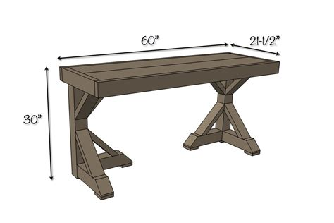 Diy Trestle Desk Free Plans Rogue Engineer Desk Plans Free