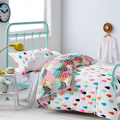 kid comforter adairs kids girls raindrop confetti contemporary kids