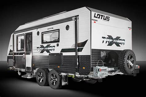 offroad travel trailers lotus tremor road cer hiconsumption