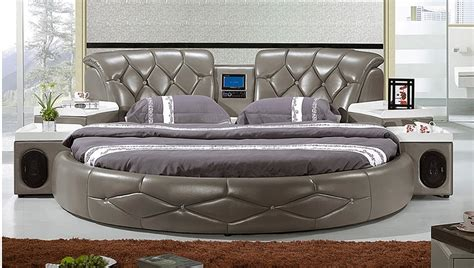 round king size bed round the king size bed bed large size leather bed in beds from furniture on