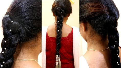 punjabi hairstyle  paranda hair