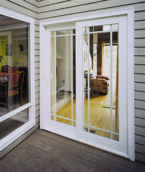Patio Slider Doors - 8 sliding glass patio doors vinyl sliding rail