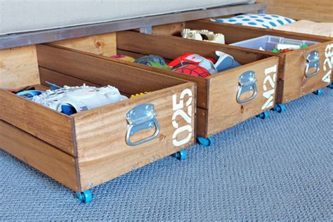 under bed rolling storage underbed storage ideas design dazzle