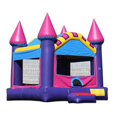 Castle Bounce House by Purple Princess Castle Bounce House Bounce Houses
