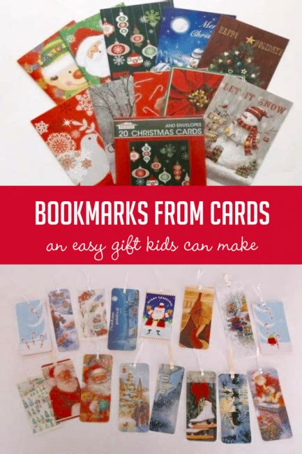 Where Can I Turn In Gift Cards For Cash - turn cards into bookmarks an easy gift kids can make