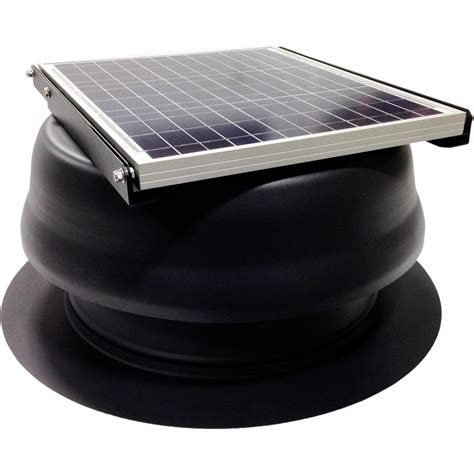 3000 cfm exhaust fan cardinal ventilation 30 watt 1650 cfm black solar powered