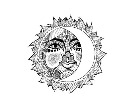 Graffiti Art Home Decor by Daily Art Drawing Of A Celestial Sun Eclectic Cycle
