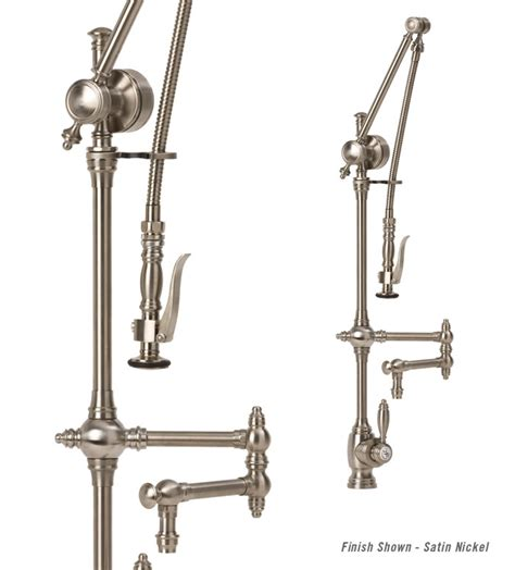waterstone kitchen faucets waterstone towson gantry semi professional kitchen faucet