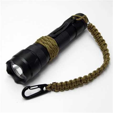 Flashlight Light by Flash Light Lanyard Paracord Pinterest
