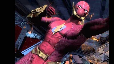 Injustice gods among us elseworld flash costume youtube