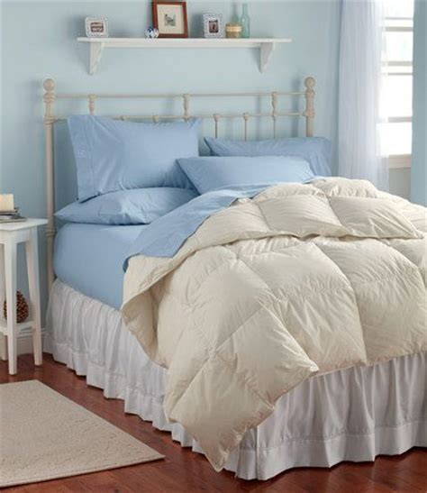 ll bean bed sheets ll bean box stitch goose down comforter item ta113357