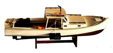 lobster boat weight new england lobster boat model ship authentic details ebay