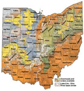 Topographical Map Of Ohio by Map Watch News January 2005