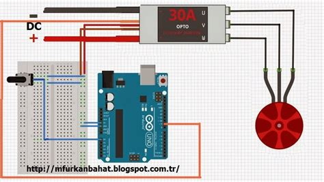 arduino code to control motor brushless motor control with arduino m furkan bahat