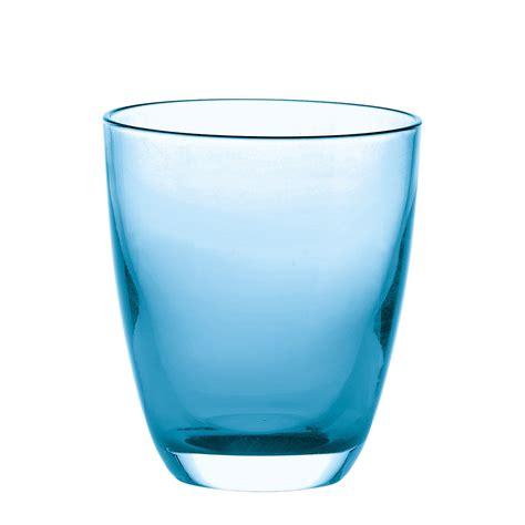 i bicchieri bicchiere in vetro bicolore 29770081 fratelli guzzini