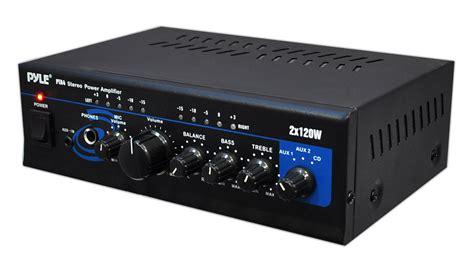 amazoncom pyle home pta mini  watt stereo power
