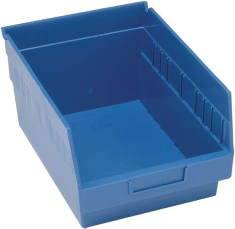 Plastic Shelf Bins by Store More Maximum Storage Nesting 6 Quot Plastic Shelf Bin
