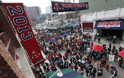 sox ready for opening day at fenway park wbur