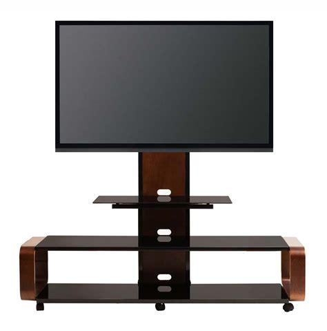 tv for 65 inch tv transdeco glass tv stand cart w mount wheels for 50 60 65