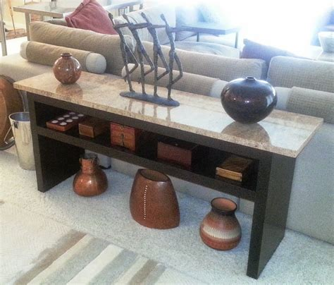 granite sofa table granite coffee table with expedit wall shelf and lack
