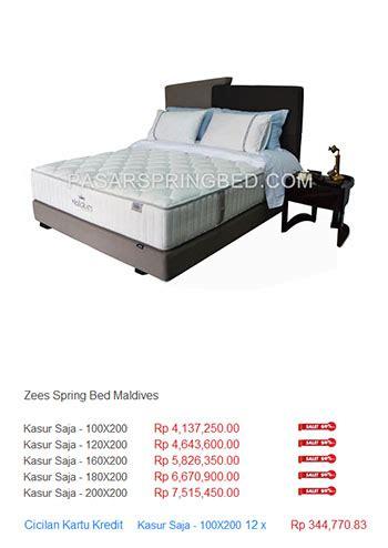 Kasur Central Bekasi daftar harga zees harga bed termurah di indonesia