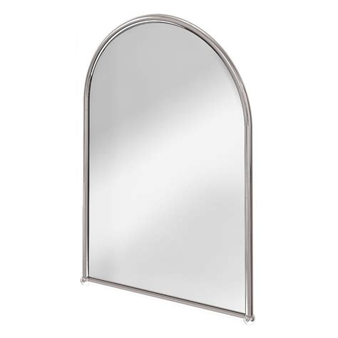 arched bathroom mirror traditional design burlington arched mirror