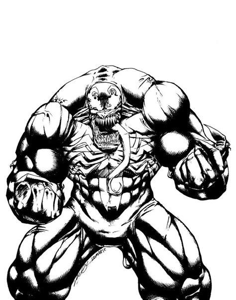 evil spiderman coloring page black and white drawing of venom marvel venom evil