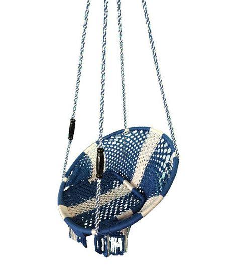 Kaushalendra Hanging Hammocks Nylon Single Patio Chair