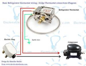 refrigerator fridge thermostat wiring diagram guide electrical 4u