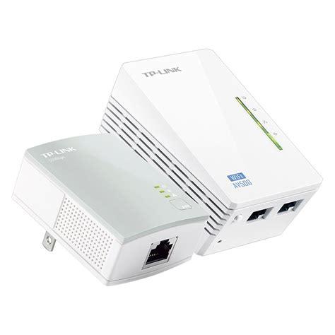 tp link repeater lights tp link 300mbps av500 wifi powerline extender starter