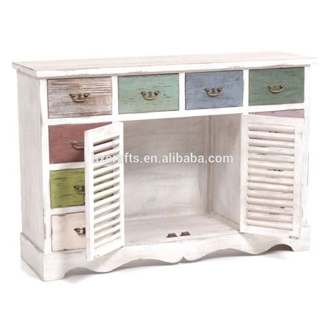 kommode shabby chic kommode in shabby chic with 10 drawers shabby chic cabinet