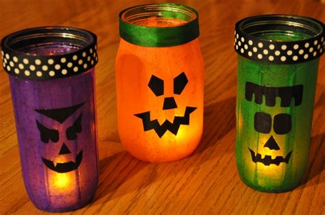 home made decoration homemade halloween decor 13 empty milk jug luminaries