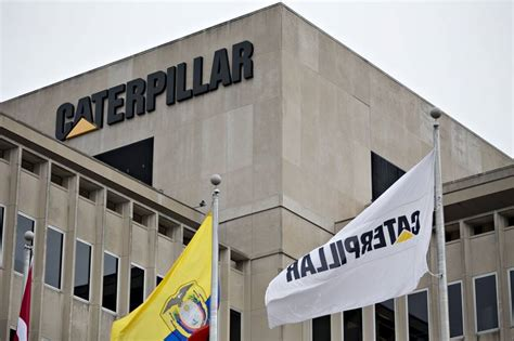 Caterpillar Corporate Office by Federal Agents Raid Caterpillar Offices