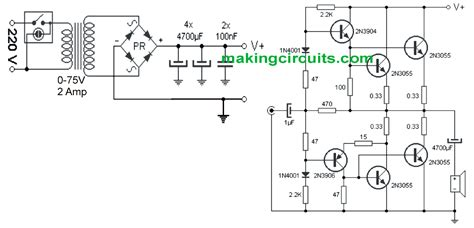 2n3055 transistor driver circuit 2n3055 transistor connection 28 images 2n3055 flyback driver flickr photo wiring up two