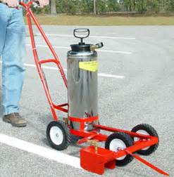 parking lot painting machine trusco trueline model 20 up parking lot striper