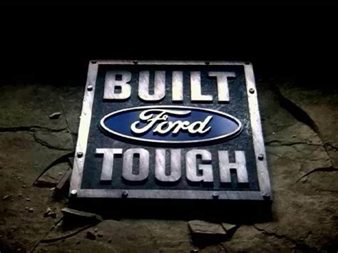 Built Ford Tough Logo by Ford Previews New Built Ford Tough Shield