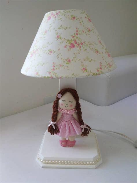 decoração de quarto infantil boneca de pano abajur boneca de pano paula vincis decor artes elo7