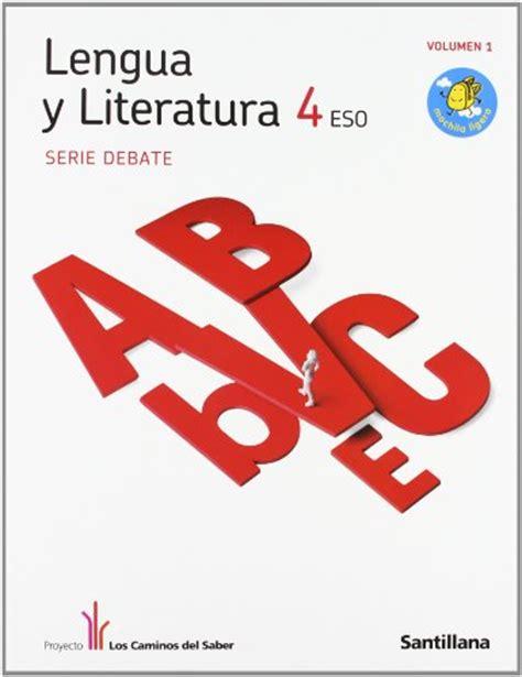 libro lengua y literatura serie libro de lengua 2 eso santillana pdf examen eoi ingles c1
