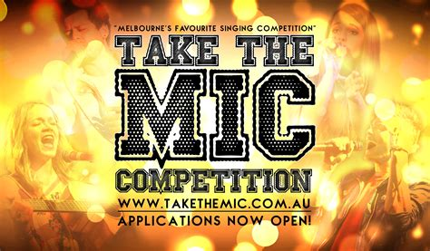 i want to take the mic singing competition take the mic theatrepeople