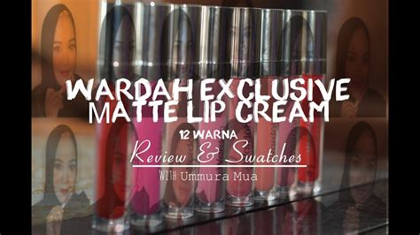 Wardah Lengkap wardah exclusive matte lip review and swatches
