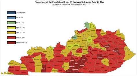 kentucky demographic map the kentucky gamble betting on obamacare us news