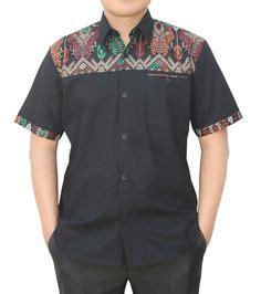 Kemeja Pria Tribal Series batik semar kemeja batik ivory navy biru pengiriman gratis zalora co id for