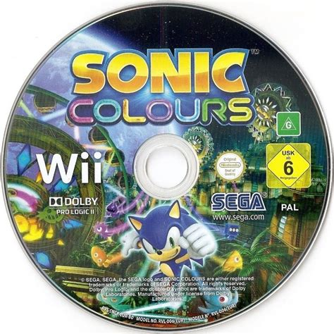 sonic colors review sonic colors 2010 wii box cover mobygames