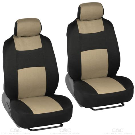 car seat bench beige car seat covers set full solid bench for auto suv w