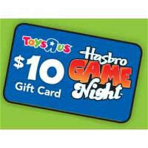 Toys R Us Gift Card Purchase Online - toys r us 9 hasbro games for 25