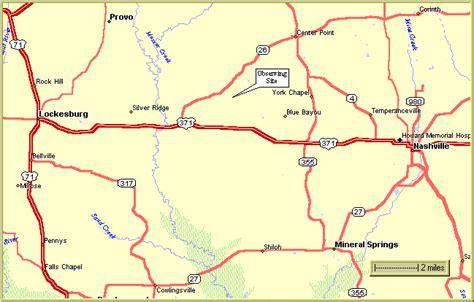 map of oregon 205 rrac observing site