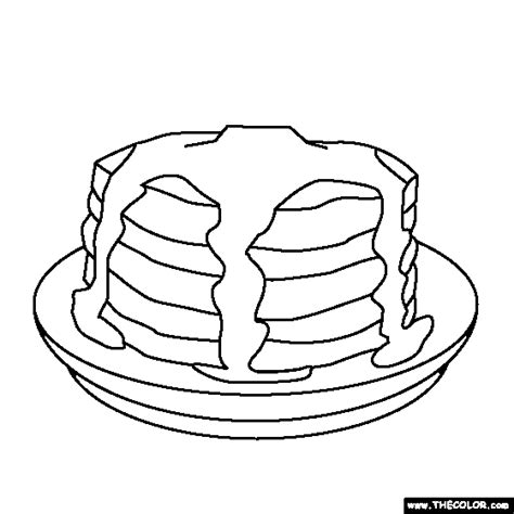 coloring pages of pan cake if you give a pig a pancake coloring pages coloring home