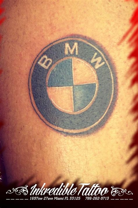 tattoo logos bmw logo miami shop bmw logo