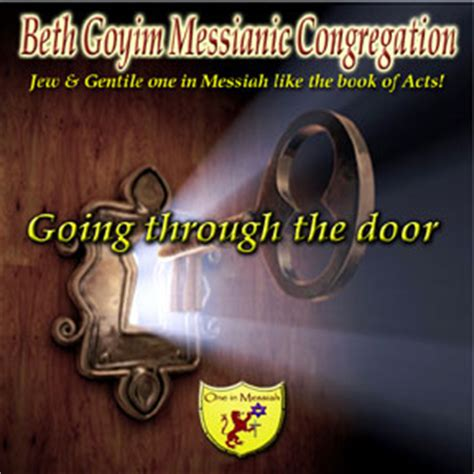 Go Through The Door by Beth Goyim Messianic Congregation Nj Ny Messianic Radio Messianic Tv Free Messianic