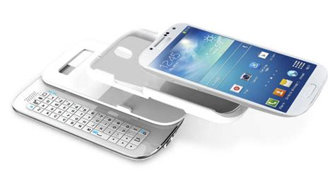 Keyboard Bluetooth Samsung samsung galaxy s4 slide out keyboard available for 79 99